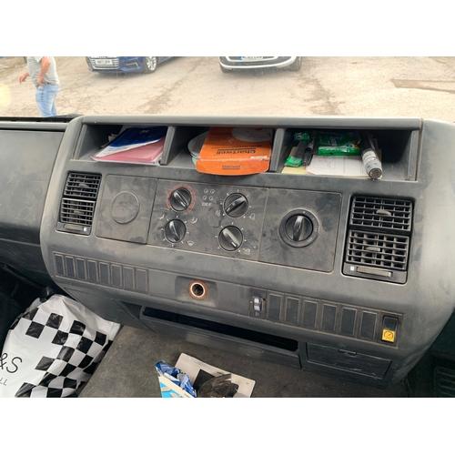 399 - MAN Tipper van - 51 plate, no MOT...