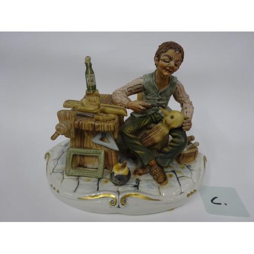 21 - Capodimonte - Puppet maker...