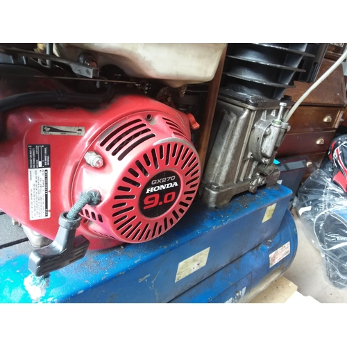 52 - Industrial Professional Air Compressor with GX270 Honda 9.0 Engine...