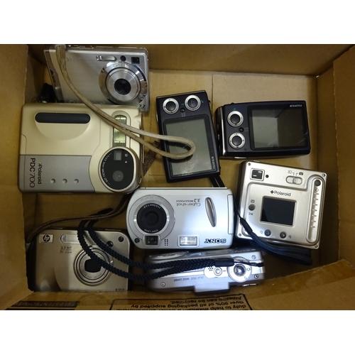 42 - Mix lot of camera's (B)...