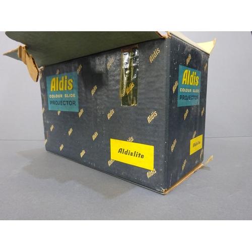 36 - Vintage Aldis colour slide projector...
