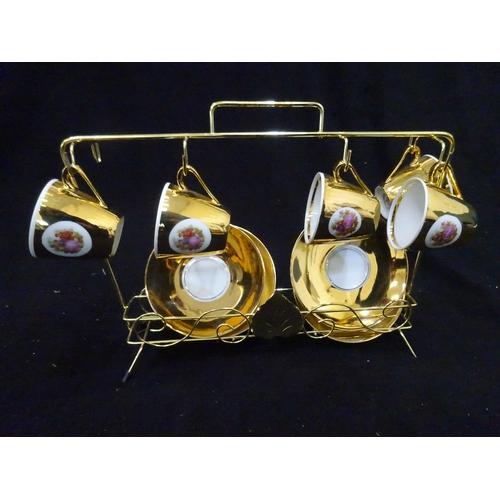 56 - Vintage Bondware Fine China Foreign Best Porcelain Gold...