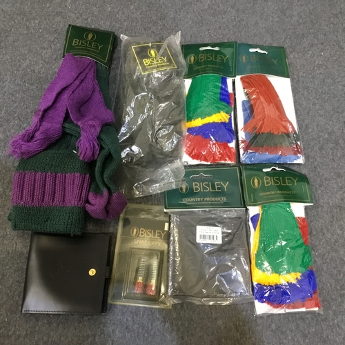 15 - Collection of brand new Bisley products (stockings,mittens.garters + wallets)...