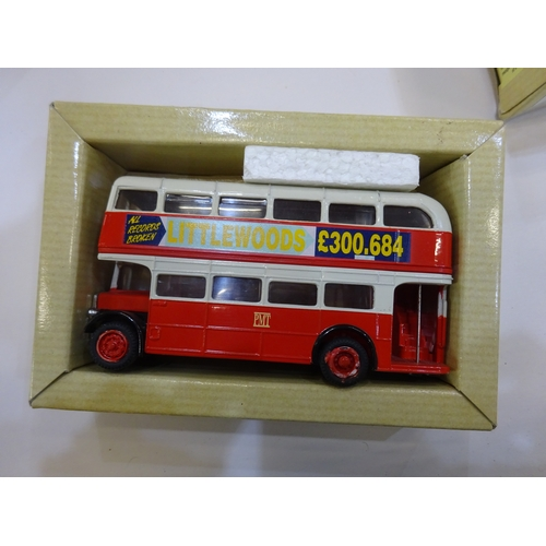 33 - Corgi van & bus models (5 boxes) M1...