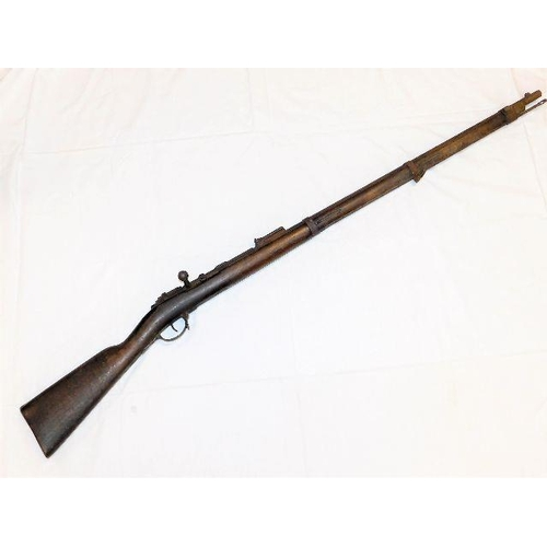 21 - A circa.1896 Boer War Mauser 7mm rifle, not deactivated (you will require a firearms certificate to ...