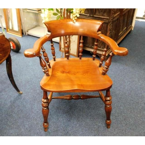 33 - A Peter Blomfield smokers bow chair...