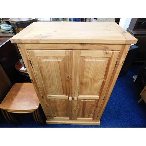 7 - A modern solid pine cupboard...