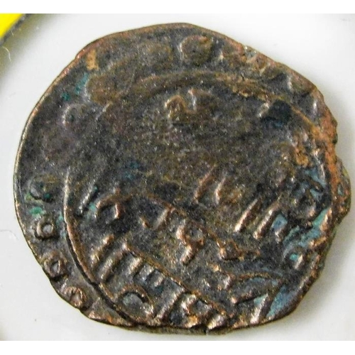 46 - An antiquated Crusader type coin 17.5mm...