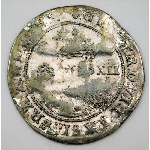 57 - A c.1550 Edward VI shilling 32mm 5.6g...