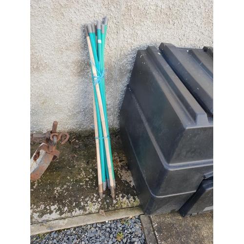 23 - Set sewer rods...