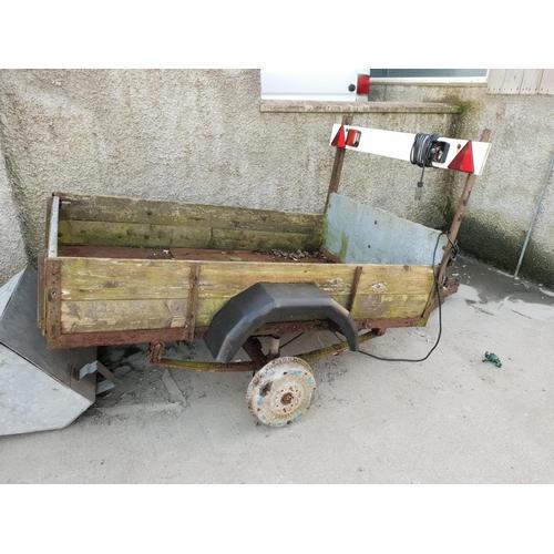 46 - 6x4 car trailer frame for restoring...