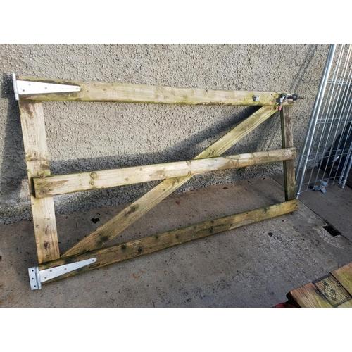 26 - wooden gate...