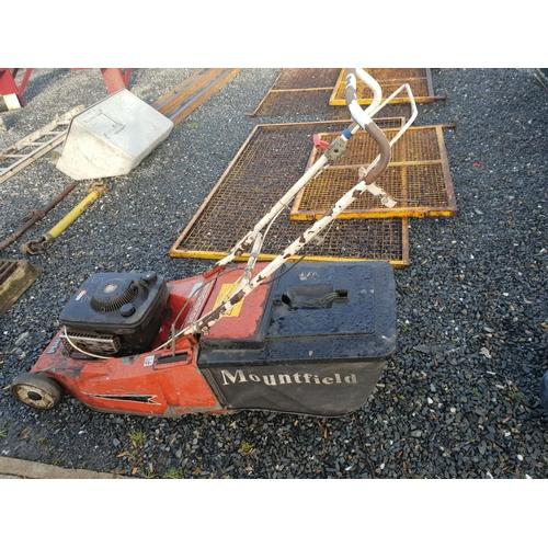 36 - mountfield lawnmower (W)...