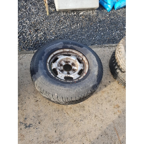 39 - jeep tyre and rim...