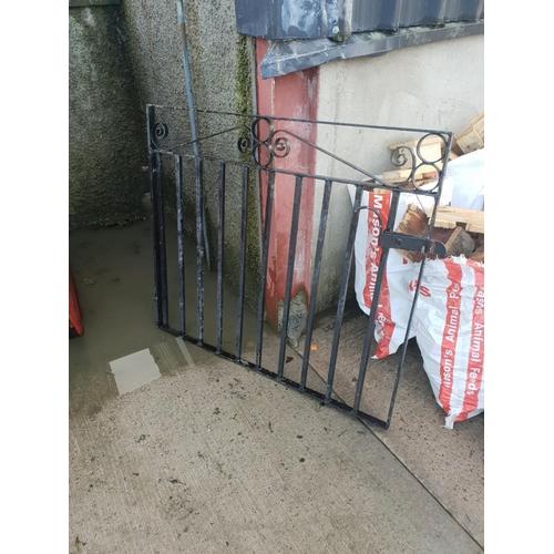 4 - black garden gate...