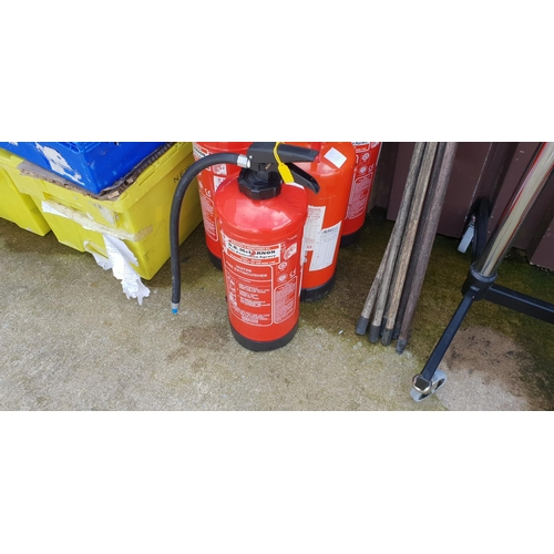 59 - large fire extinguisher in date tested...