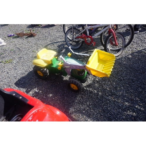 55 - kids tractor and loader