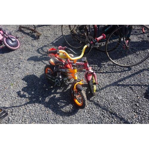 58 - lot kids bikes
