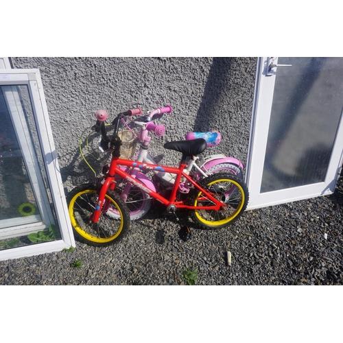 6 - 2 kids bikes
