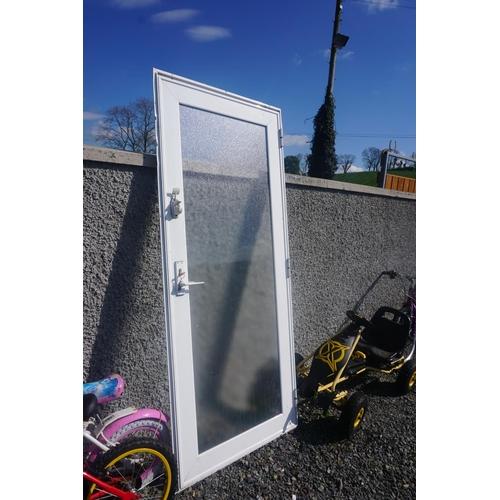 7 - aluminum door and frame