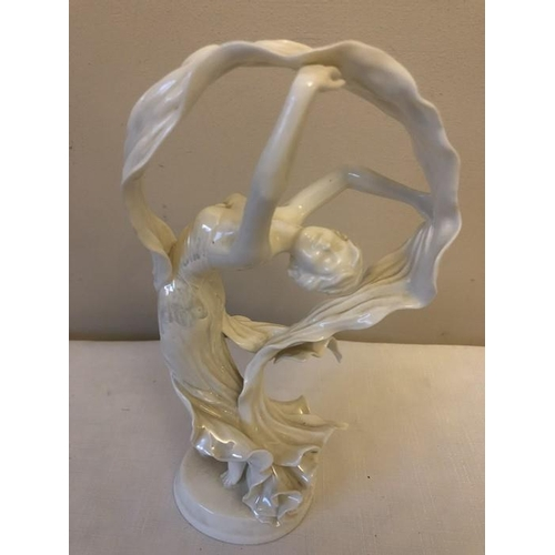 28 - Royal Worcester for Compton Woodhouse limited edition figure. Spirit of the Dance. 26cms h....
