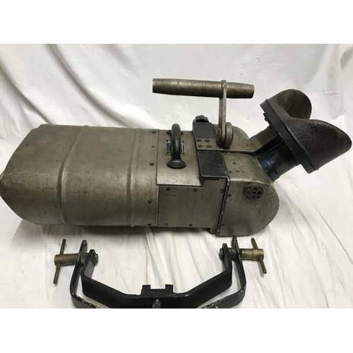 An extremely rare WWII period German Luftwaffe 25 X105 Wehrmacht Doppel Fernrohr aircraft identification and general observation binoculars. 56cms long.