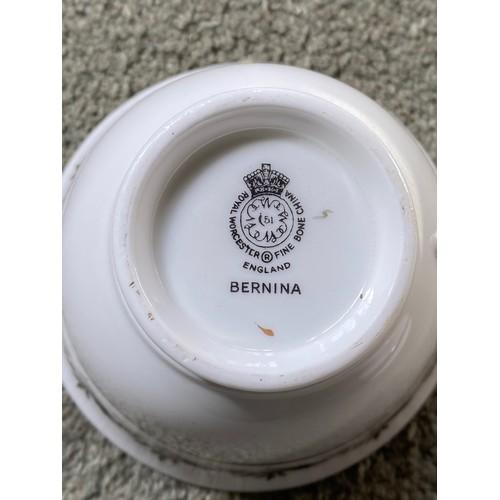 27 - Royal Worcester Bernina part dinner service. Approx 80 pieces.