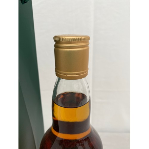 732 - A House of Commons blended Scotch Whisky 70cl signed by Boris Johnson PM in a presentation green bag...