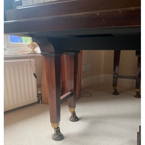 734 - A Chappell of London baby grand piano retailed by Gough and Davy of Hull Grimsby and Scunthorpe. 142...