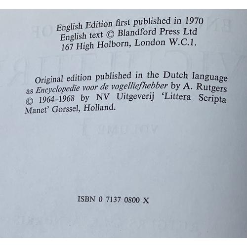 7 - 3 Volumes - Encyclopaedia of Aviculture -  London, Blandford, 1970-77