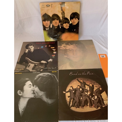 88 - Beatles For Sale - Early, Possibly First Pressing plus other Lennon and McCartney Albums