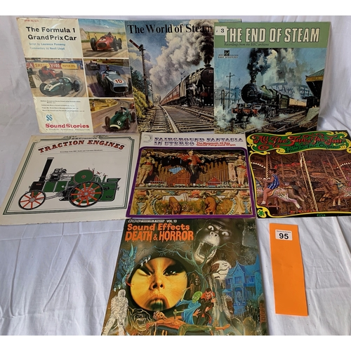 95 - Quantity of Vintage Sound Effects LPs