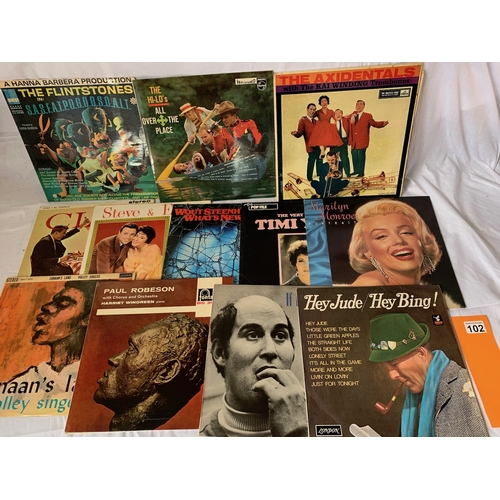 102 - Collection of 1960s LPs