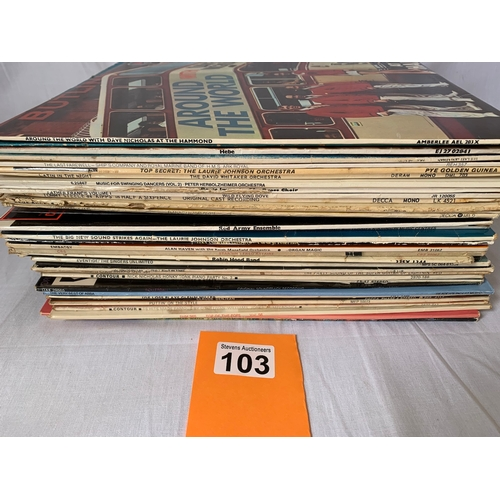 103 - Approx 39 LPs