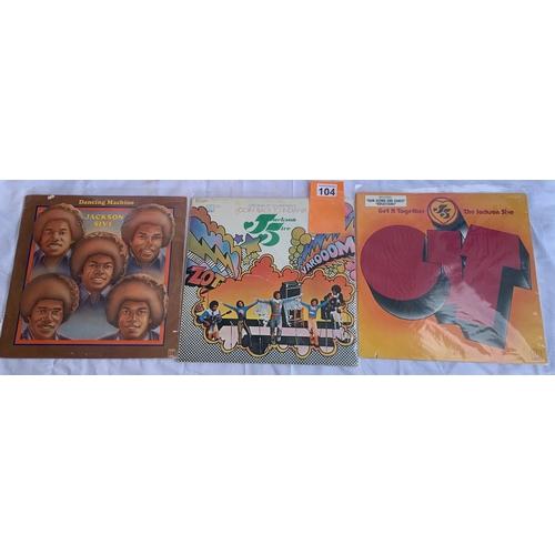 104 - Jackson 5 - 10 x Tamla Motown LPs