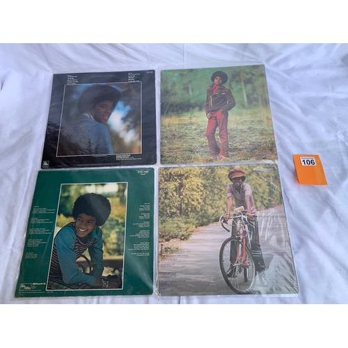 106 - Michael Jackson - 4 Tamla Motown LPs