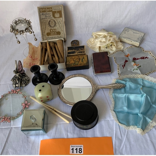 118 - Collection of Ladies Dressing table and other items