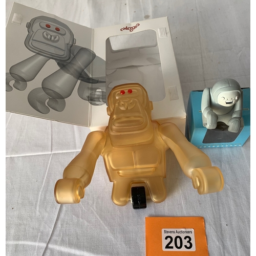 203 - Two Boxed japanese Toys