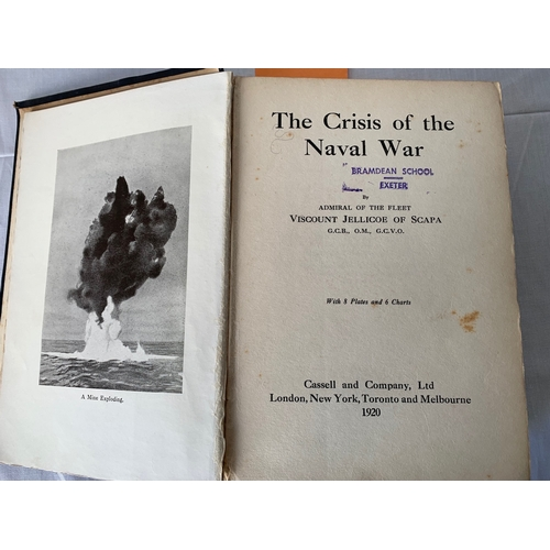 219 - 4 WW1 Naval/Air War volumes