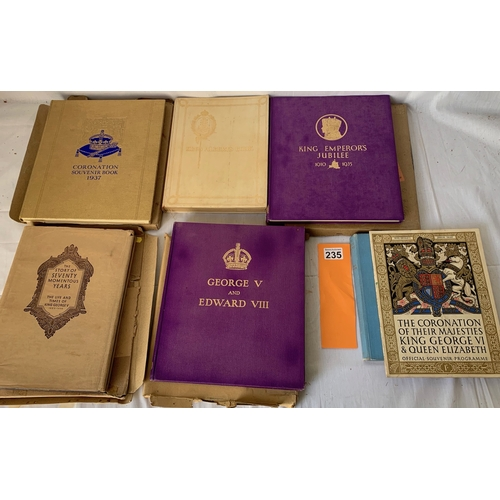 235 - Collection of Vintage Royalty Book, most in original postal sleeves.