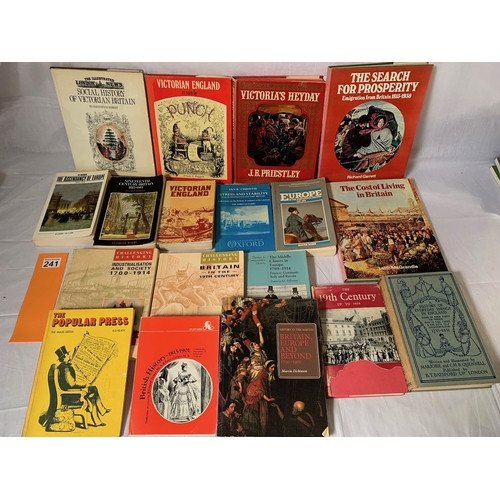 241 - Collection of Nineteenth Century history books