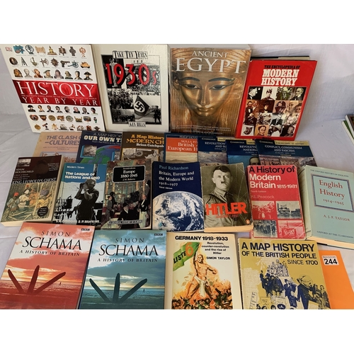 244 - Collection of general history books