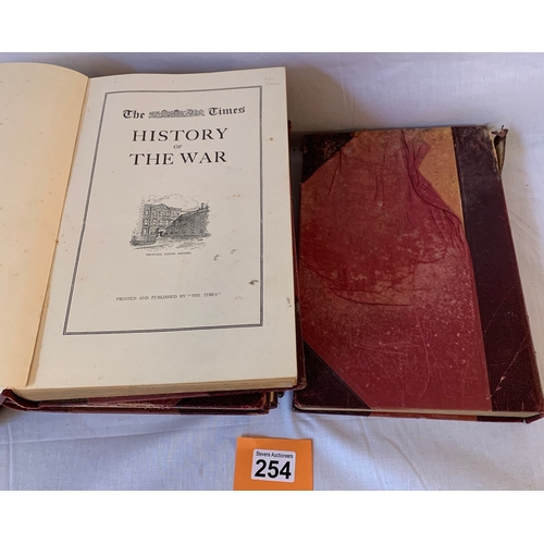 254 - The Times History of the War volumes