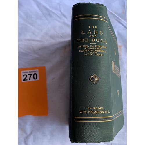 270 - The Land and The Book 1903