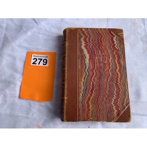 279 - The Bertrams - Anthony Trollope. Undated but will be last half of the 19th century.