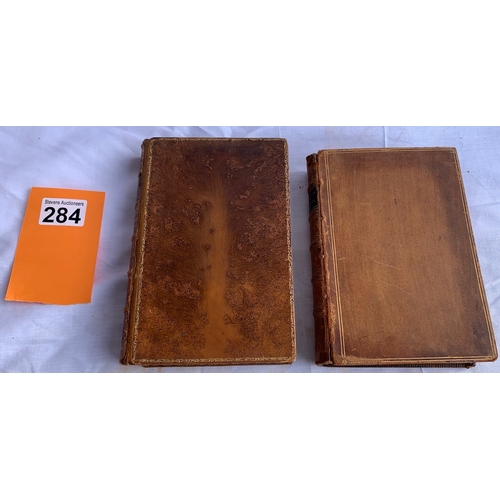 284 - 2 Antiquarian volumes including: Selections From The Writings of Lord Macaulay - Longmans, Green & C...