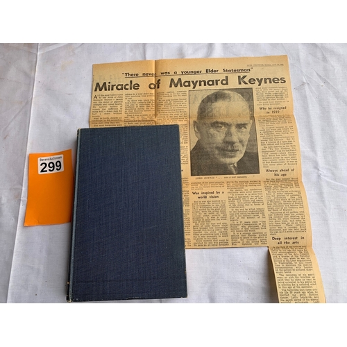 299 - A Tract on Monetary Reform - John Maynard Keynes FIRST EDITION 1923
