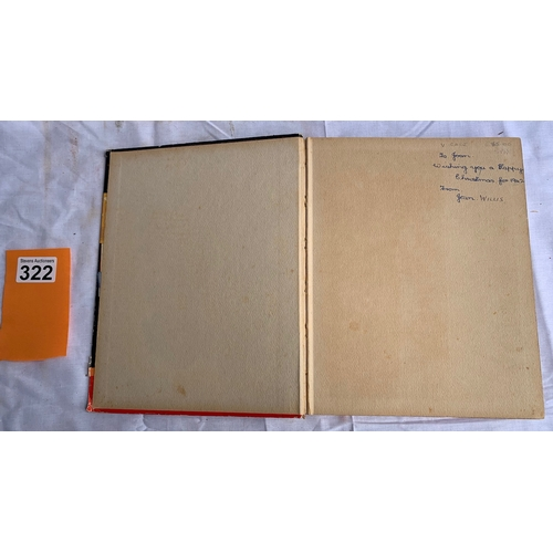 322 - Very Rare C. 1942  - The Agnes Richardson Book. Annual format