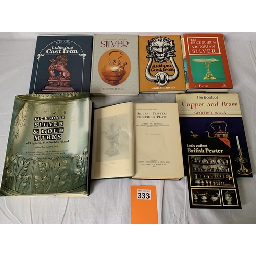 333 - Books on Silver and other metals