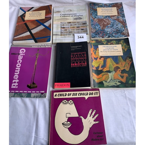 344 - Collection of books on Modern Art